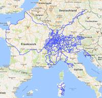 Alpenpässe Karte.Maps Routen Und Pässe Motorradtouren